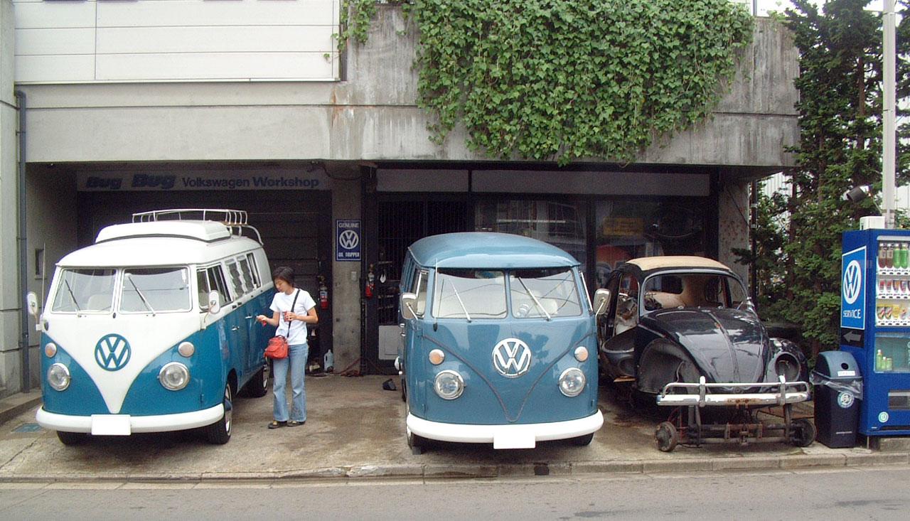 ワーゲンバスを購入したVWショップbugbug