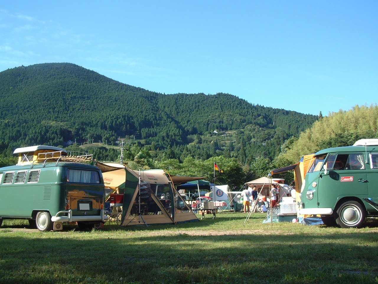 ワーゲンイベント・キャンプのイメージ写真